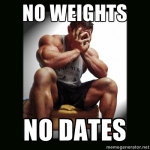 no weights no dates